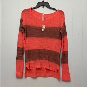 New Aeropostale Striped Long sleeves Sweater Sz XS